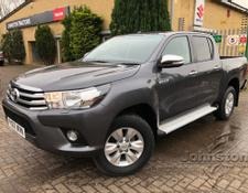 Toyota Hilux 2.4 D-4D Icon Double Cab Pickup 4dr Diesel Manual (185 g/km, 148 bhp)