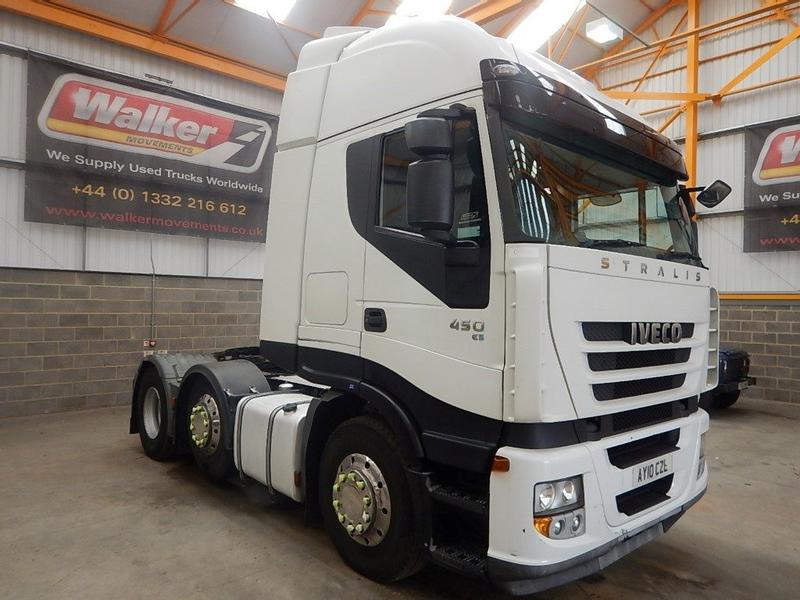 Iveco STRALIS 450 EURO 5, 6 X 2 TRACTOR UNIT - 2010 - AY10 CZL