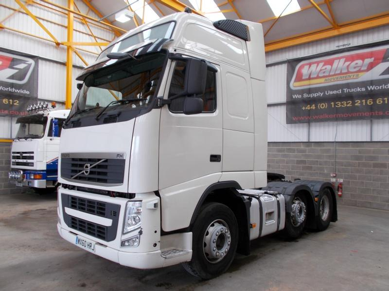 Volvo FH GLOBETROTTER XL 500 EURO 5, 6 X 2 TRACTOR - 2010 - WX60 HRJ