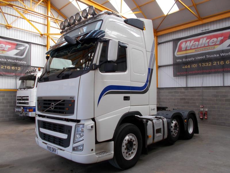 Volvo FH GLOBETROTTER XL 460 EURO 5, 6 X 2 TRACTOR UNIT - 2010 - PX10 DKV