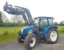 New Holland T5060 and Loader For Sale