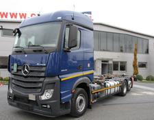 Mercedes-Benz ACTROS 2543 E6 6X2 CHASSIS