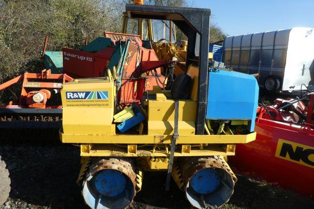 Rammax RW2900 TRENCH ROLLER
