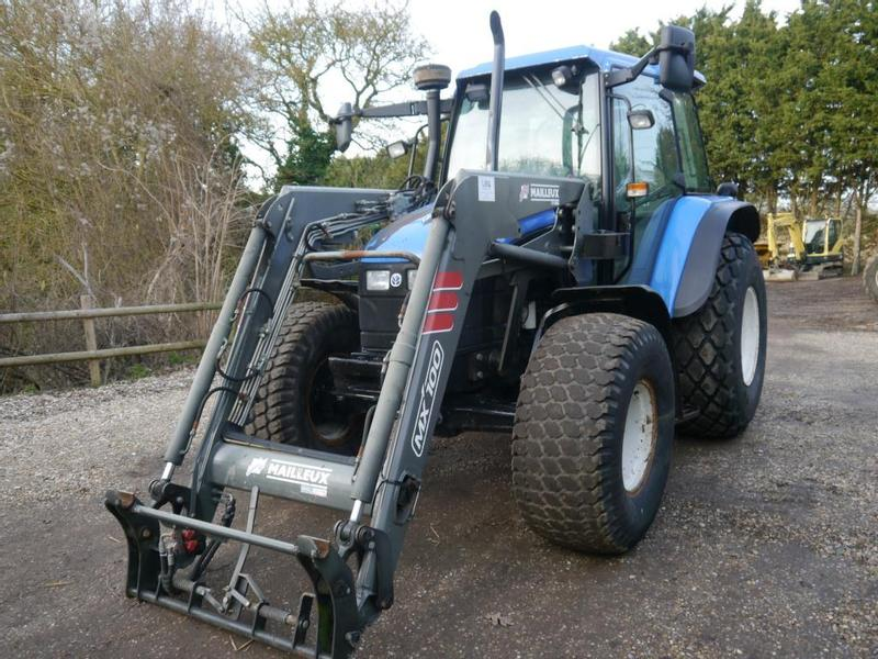 New Holland 6640 4wd Tractor