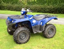 Yamaha Grizzly 700 EPS ATV in blue paint finish